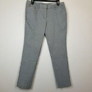 Worthington mini houndstooth print pants